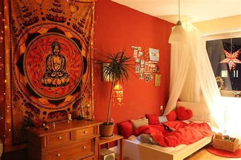 buddha inspired bedroom 16 bedroom decorating idea with tapestries royal furnish
