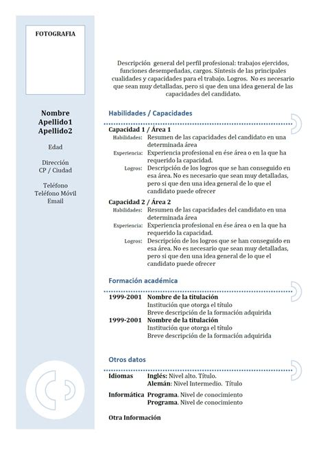 Exemple De Lettre De Motivation En Espagnol cv espagnol exemple lettre de motivation 2018