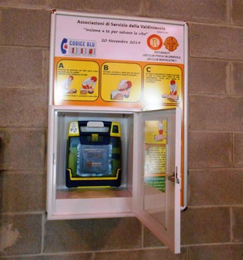 defibrillatore interno rotaract leo club pescia valdinievole e leo club