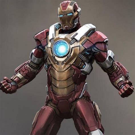 iron man heartbreaker armor concept art news