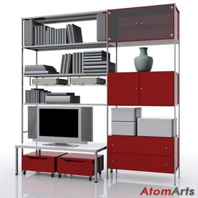 ikea model bedrooms living room storage ikea 3d model