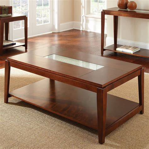 birch coffee tables shop steve silver company birch coffee table at lowes