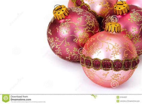 close up decorative christmas balls royalty free stock