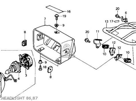 trx 250r wiring diagram trx get free image about wiring