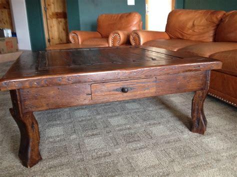 Mesquite Coffee Table Letgo Mesquite Wood Square Coffee Table In Peoria Az