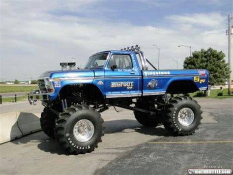 trucks bigfoot bigfoot the original truck 16 photos trucks