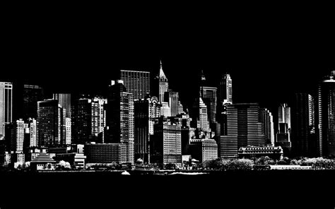 black and white new york skyline wallpaper for bedroom new york city image wallpapers wallpaper cave