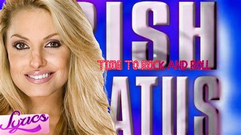 trish stratus lyrics wwe trish stratus 3rd theme song quot time to rock and roll
