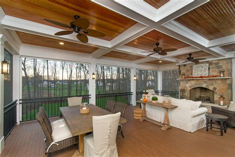 screened in porch maryland west friendship screen porch builders