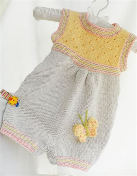 summer baby knitting patterns 150 best images about baby onesies rompers on