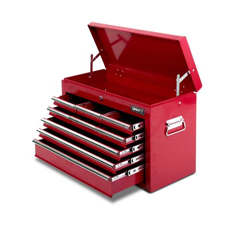 Small Vaccums 9 Drawers Tool Box Chest Red