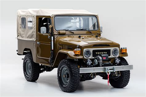 vintage toyota jeep this vintage 81 toyota land cruiser is perfectly