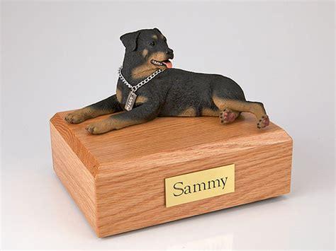 rottweiler urn rottweiler figurine urn memorial urns
