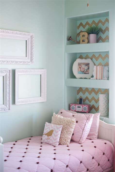 girls room colors gold pink and very chic little girls bedroom design 187 b