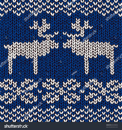 jumper pattern vector jumper pattern reindeers vector illustration stock vector