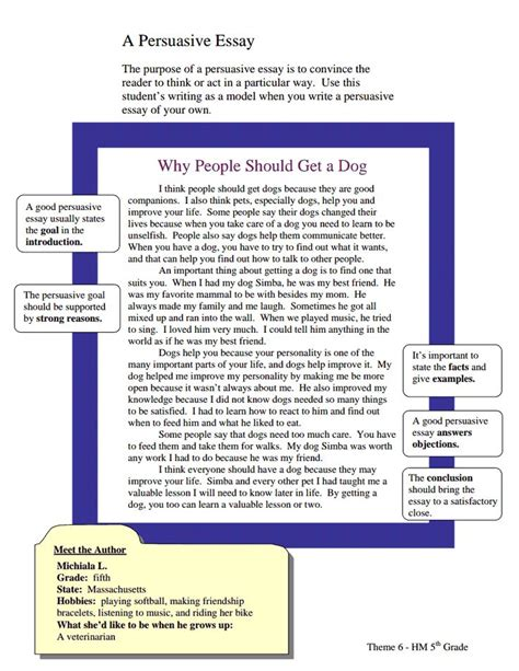 theme essay grade 6 1000 images about persuasive essay on pinterest anchor