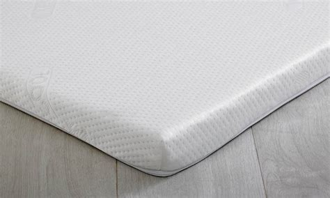 King Size Bed Foam Topper Maxicool Coolmax 5cm 75kg King Size Memory Foam Topper