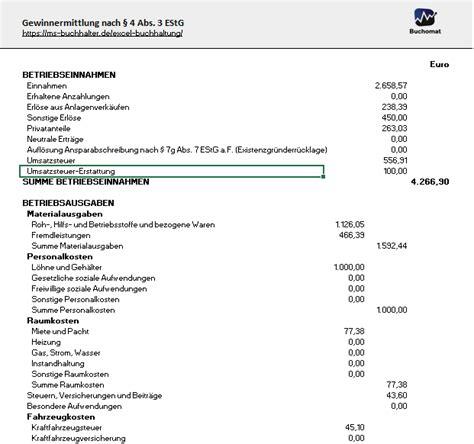 Rechnung Vorlage Xlsx Kostenlose Excel Vorlage F 252 R Ihre Buchhaltung Und E 220 R