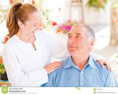 elderly home care stock photography image 37751952