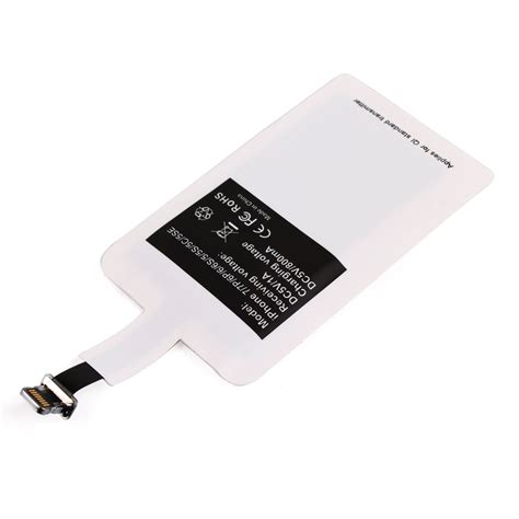 Iphone 6 6s 7 Q1 Receiver Universal Lighting Apple Receiver Card universal qi wireless charger power charging receiver kit for iphone 5 5s 6 6s 7 7p alex nld