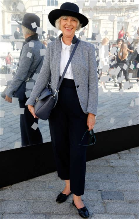 trending styled 2015 women over 50 street style photographs of women over 50 looking stylish