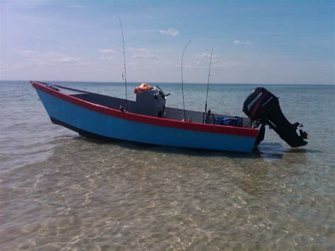 skiff joint 18 ft lady bug wooden skiff w trailer 5500 north
