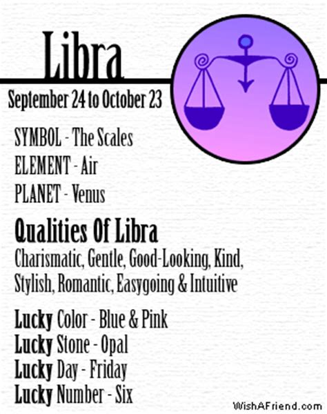 what is my lucky color your zodiac profile libra