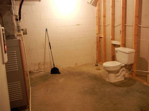 how to build a bathroom in a basement photos of new construction remodeling renovation