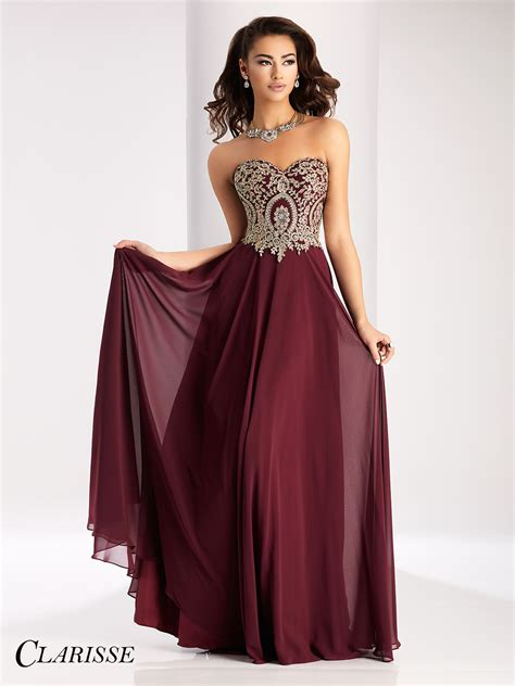 dress color clarisse 2715 prom dress promgirl net