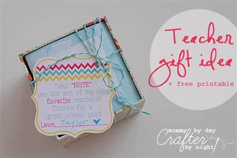 gifts for my on gift idea free printable appreciation