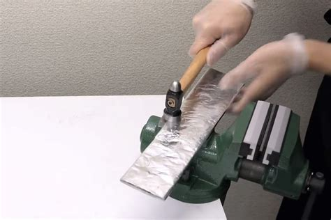 how to make a kitchen knife from aluminum foil yanko design