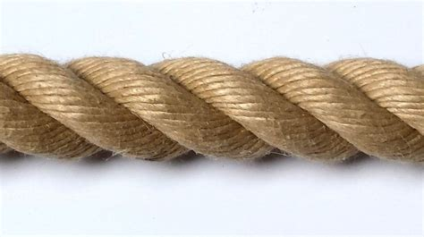 28mm synthetic hemp garden decking rope sold by the metre