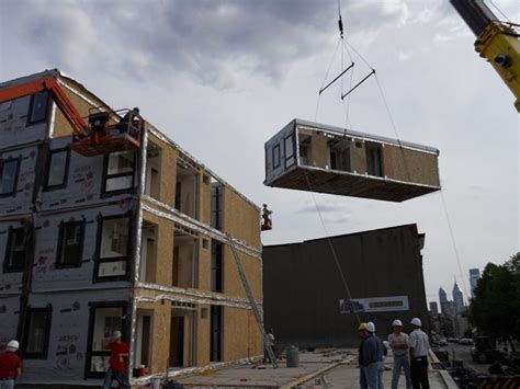 prefab construction the modules leed silver modular housing at temple