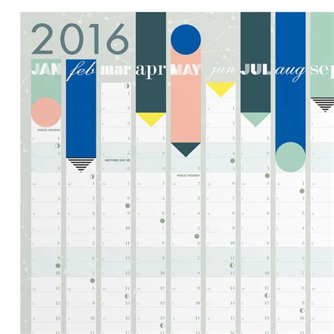 new year 2016 planning ks1 2016 year planner pastel reduced by lollipop designs