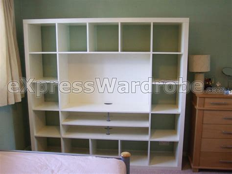 Cheap Bedroom Units Uk Ikea Expedit Tv Storage Unit Home Decor Ideas