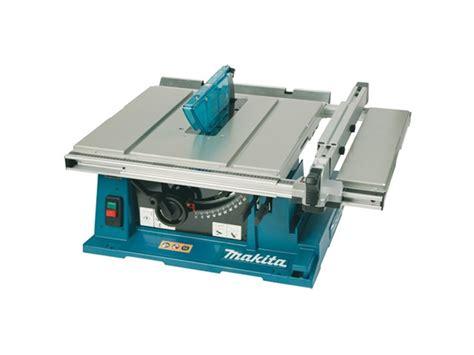 bench saws uk makita 2704 110v 260mm table saw