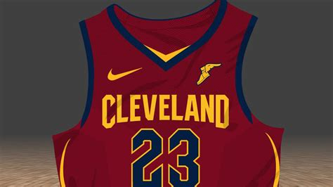 cavaliers new year jersey here s a look at the cavs new jerseys fear the sword