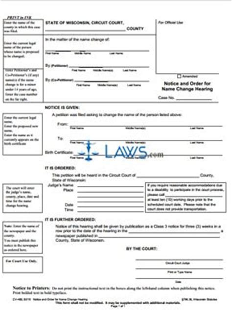 airasia name change e form form cv 460 notice and order for name change hearing
