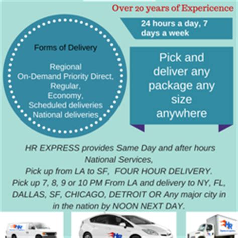 hr department phone number hr express logistics couriers delivery services 645 w 9th st downtown los angeles ca