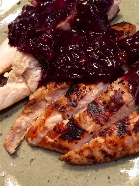turkey broil marinade recipe marinated grilled turkey broil with blueberry