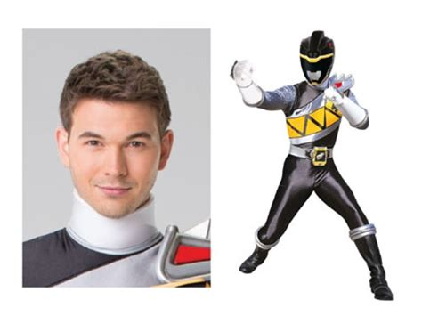 Chase Ranger Noir Dino Charge Personnages Power