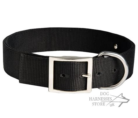 collars with name plate personalized collar of with blank id tag for doberman
