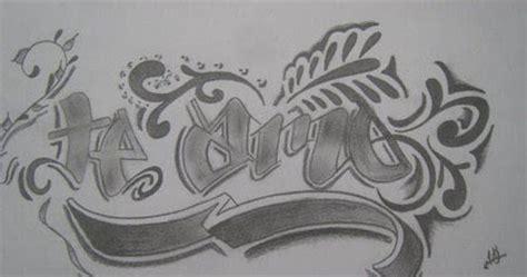 cool graffiti te amo sketches  mastrgraff artist