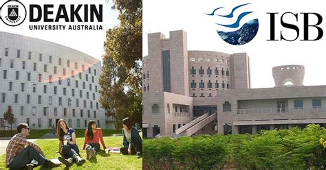 Deakin Mba International by Hyderabad Isb Australia Based Deakin To