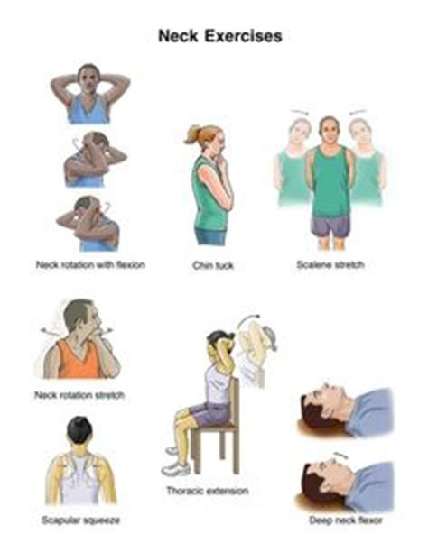 Isometric Desk Exercises by 1000 Images About Neck On Neck