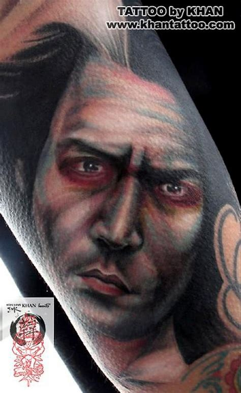 sweeney todd tattoo sweeney todd by khan tattoonow