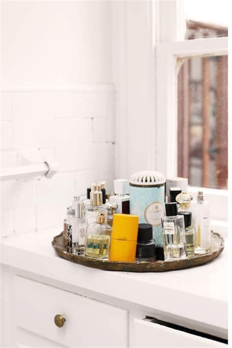 Vanity Merrick by Mirrored Tray Bathroom The Glitter Guide