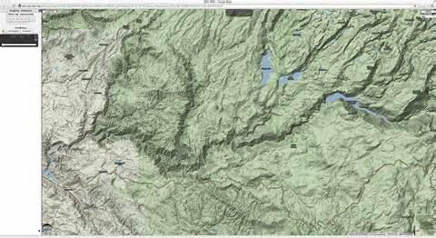 terrain map august 171 2013 171 cimss satellite
