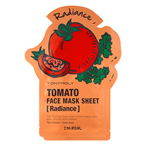 Tonymoly Tomato Mask the trend in skincare ingredients