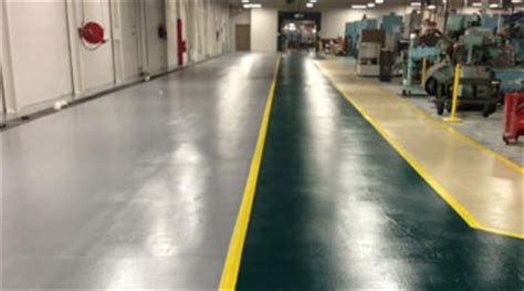 The Floor Shoppe by Machine Shop Floor Coating Concrete Flooring For Factories